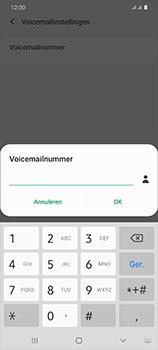 Samsung Galaxy S20 Ultra 5G Dual SIM eSIM SM-G988B - Voicemail - Handmatig instellen - Stap 10