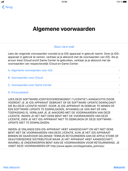 Apple iPad Mini 3 - iOS 11 - Toestel - Toestel activeren - Stap 34