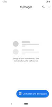 Google Pixel 3a - Contact, Appels, SMS/MMS - Envoyer un SMS - Étape 4