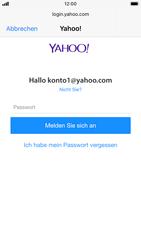 Apple iPhone 8 - iOS 13 - E-Mail - 032b. Email wizard - Yahoo - Schritt 7
