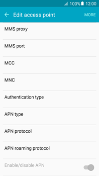 Samsung Galaxy A8 - MMS - Manual configuration - Step 12
