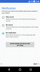 Sony Xperia XA (F3111) - Android Nougat - E-mail - Manual configuration (yahoo) - Step 11