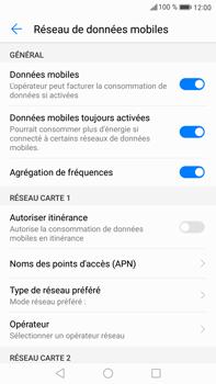 Huawei Mate 9 - Internet et roaming de données - Comment vérifier que la connexion des données est activée - Étape 6