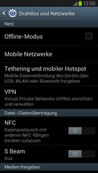 Samsung Galaxy S III LTE - Internet und Datenroaming - Deaktivieren von Datenroaming - Schritt 5
