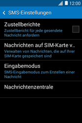 Samsung Galaxy Young 2 - SMS - Manuelle Konfiguration - 9 / 10