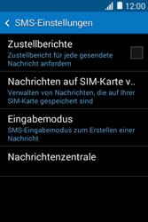 Samsung G130HN Galaxy Young 2 - SMS - Manuelle Konfiguration - Schritt 9