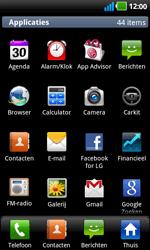 LG P970 Optimus Black - contacten, foto