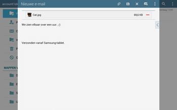 Samsung T805 Galaxy Tab S - E-mail - E-mails verzenden - Stap 19
