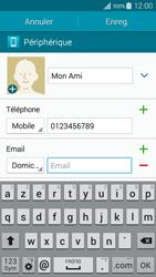 Samsung Galaxy A3 (A300FU) - Contact, Appels, SMS/MMS - Ajouter un contact - Étape 12