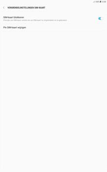 Samsung galaxy-tab-a-10-1-android-oreo - Beveiliging en ouderlijk toezicht - Hoe wijzig ik mijn SIM PIN-code - Stap 7