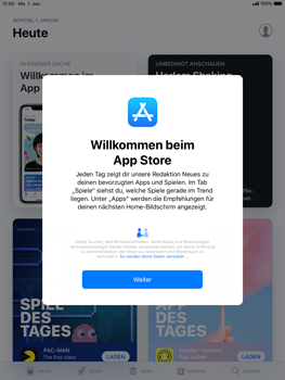 Apple iPad Pro 9.7 inch - iOS 12 - Apps - Herunterladen - Schritt 3
