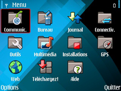 Nokia E71 - E-mail - envoyer un e-mail - Étape 2