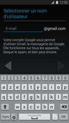 Samsung G900F Galaxy S5 - Applications - Créer un compte - Étape 7