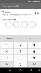 HTC Desire 530 - Sécuriser votre mobile - Activer le code de verrouillage - Étape 9