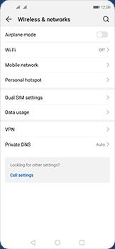 Huawei Nova 5T - WiFi - WiFi configuration - Step 4