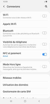 Samsung Galaxy Note9 - Android Pie - Internet et roaming de données - Comment vérifier que la connexion des données est activée - Étape 5