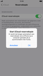 Apple iPhone 6 - iOS 11 - toestel resetten - back-up maken met jouw account - stap 11