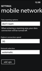 Nokia Lumia 800 / Lumia 900 - MMS - Manual configuration - Step 8