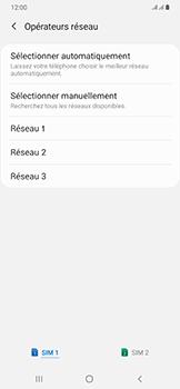 Samsung Galaxy A50 - Réseau - Sélection manuelle du réseau - Étape 11