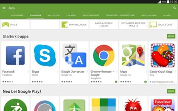 Samsung T535 Galaxy Tab 4 10.1 - Apps - Installieren von Apps - Schritt 5