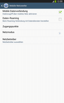 Samsung Galaxy Tab 3 8-0 LTE - MMS - Manuelle Konfiguration - Schritt 6