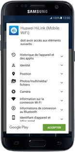 Huawei E5770 - Applications - Télécharger l'application pour smartphone - Étape 9