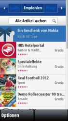 Nokia 5800 Xpress Music - Apps - Konto anlegen und einrichten - 9 / 15
