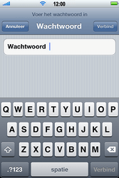 Apple iPhone 3G S met iOS 5 - wifi - handmatig instellen - stap 6