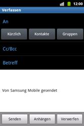 Samsung Galaxy Xcover - E-Mail - E-Mail versenden - 5 / 14