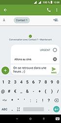 Alcatel 1 - Contact, Appels, SMS/MMS - Envoyer un MMS - Étape 12