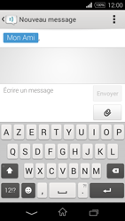 Sony Xpéria E3 - Contact, Appels, SMS/MMS - Envoyer un SMS - Étape 10