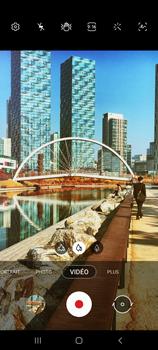 Samsung Galaxy Note 10 Lite - Photos, vidéos, musique - Créer une vidéo - Étape 14