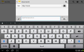 Samsung N8000 Galaxy Note 10-1 - MMS - hoe te versturen - Stap 8