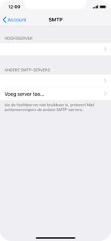 Apple iphone-x-met-ios-12-model-a1901 - E-mail - Instellingen KPNMail controleren - Stap 12