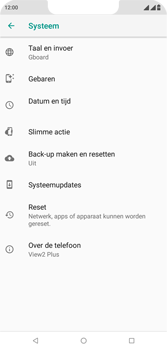 Wiko View 2 Plus - Data - maak een back-up met je account - Stap 5