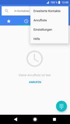 Sony Xperia XZ - Anrufe - Rufumleitungen setzen und löschen - 5 / 12