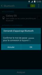 Samsung G900F Galaxy S5 - Bluetooth - connexion Bluetooth - Étape 9
