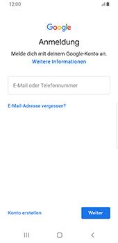 Samsung Galaxy S9 - Android Pie - E-Mail - Konto einrichten (gmail) - Schritt 8