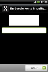 HTC A510e Wildfire S - Apps - Konto anlegen und einrichten - Schritt 15
