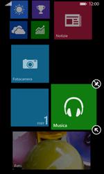 Nokia Lumia 635 - Operazioni iniziali - Personalizzazione della schermata iniziale - Fase 10
