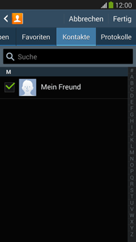 Samsung N9005 Galaxy Note 3 LTE - MMS - Erstellen und senden - Schritt 10