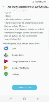 Samsung Galaxy S8 - Fehlerbehebung - Handy zurücksetzen - 9 / 12