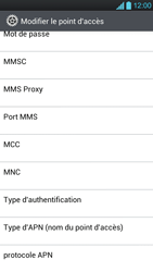 LG P880 Optimus 4X HD - MMS - Configuration manuelle - Étape 10