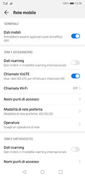 Huawei P20 - Android Pie - Rete - Come attivare la connessione di rete 4G - Fase 7