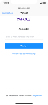 Apple iPhone XS - E-Mail - 032b. Email wizard - Yahoo - Schritt 6
