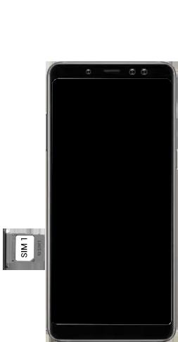 Samsung Galaxy A8 - Premiers pas - Insérer la carte SIM - Étape 5
