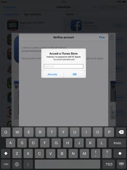 Apple iPad Air - iOS 8 - Applicazioni - Configurazione del negozio applicazioni - Fase 24