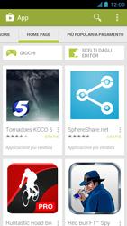 Alcatel One Touch Idol - Applicazioni - Installazione delle applicazioni - Fase 5