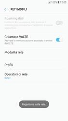 Samsung Galaxy S6 - Android Nougat - Rete - Selezione manuale della rete - Fase 11