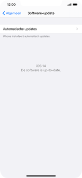 Apple iPhone 12 Pro Max - software - update installeren zonder pc - stap 6
